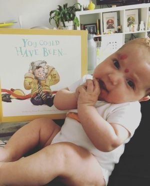 Baby and Book - 'You Could Have Been'